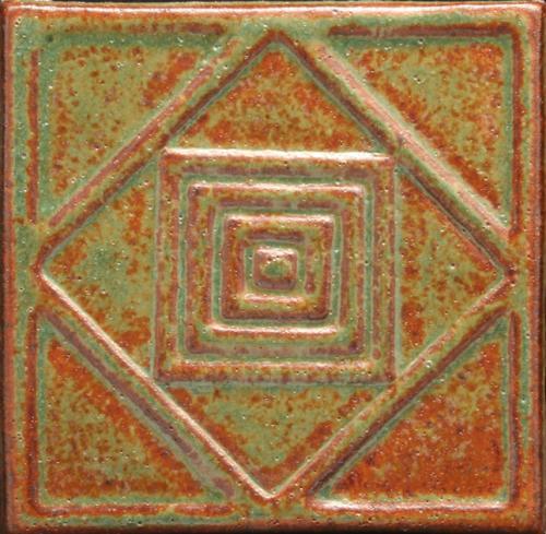 4x4 Diamond Square 52x1 Red